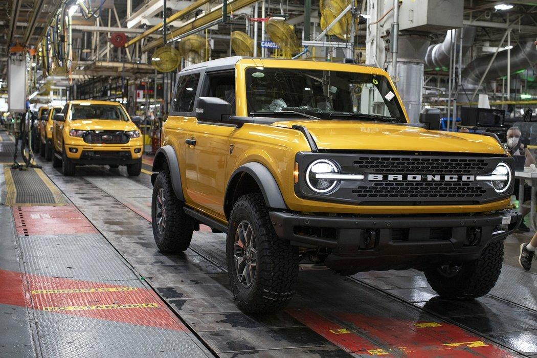 Старт производства Ford Bronco