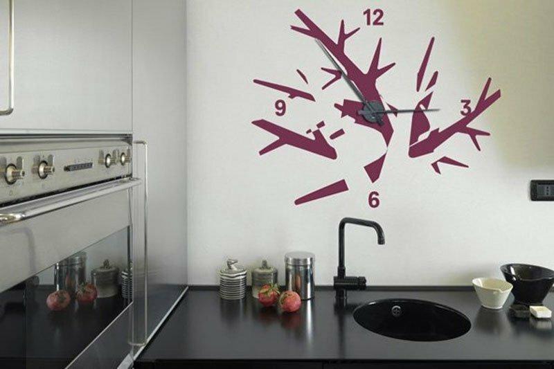 Часы в интерьере фото 16