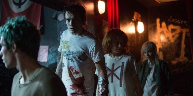 Кадр из американского фильма ужасов «Зелёная комната»
