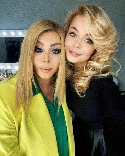 Алина Гросу и Ирина Билык