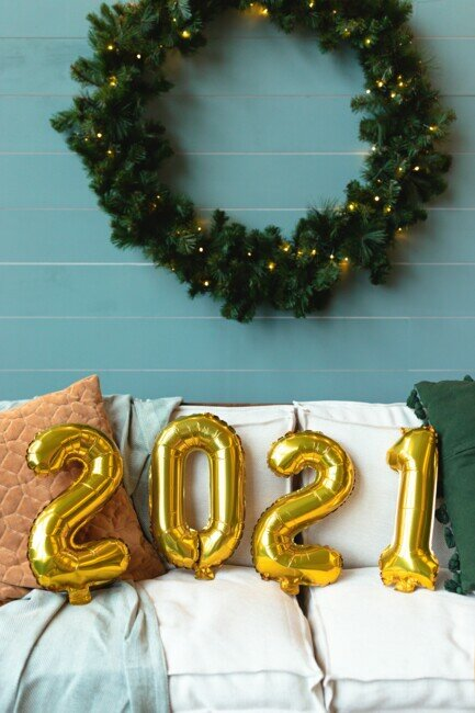 Новогодний венок 2021