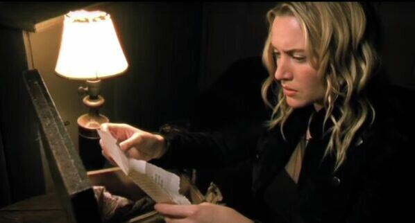 Кадр из клипа Кейт Уинслет на песню What If