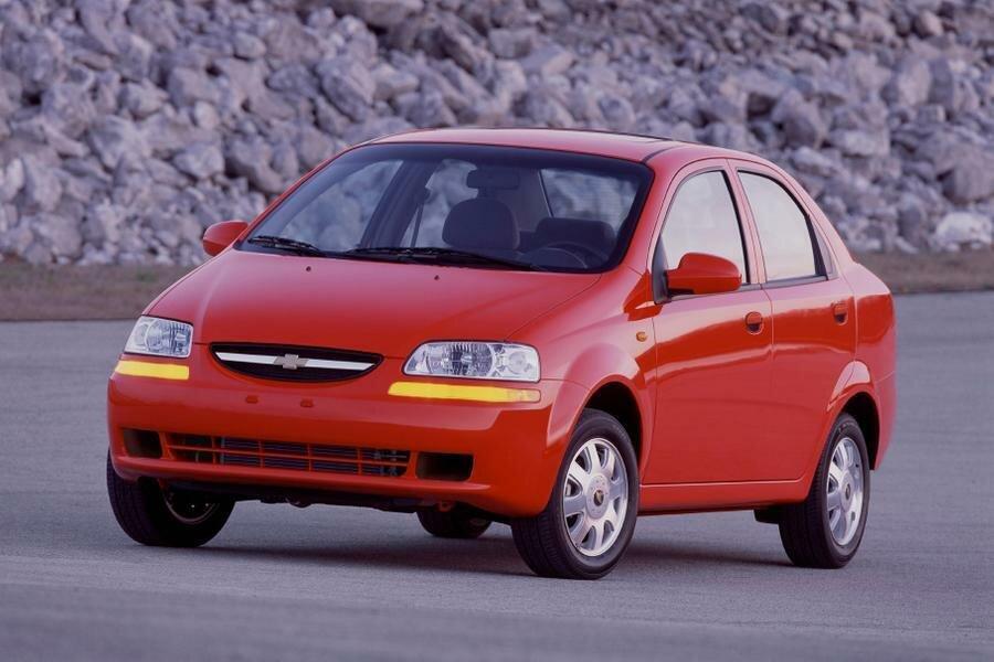 Chevrolet Aveo появился в 2002 году