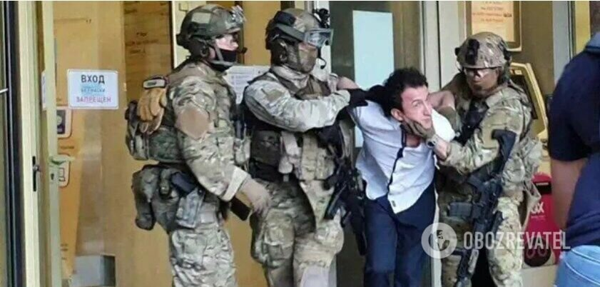 Задержание Сухроба Каримова в Киеве