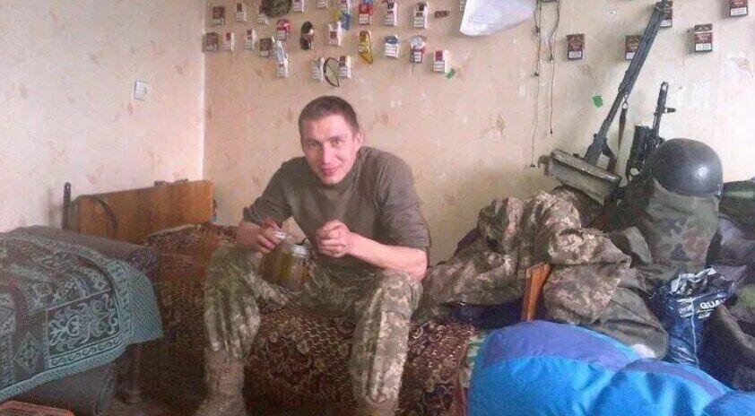 Роман Скрипник во время службы