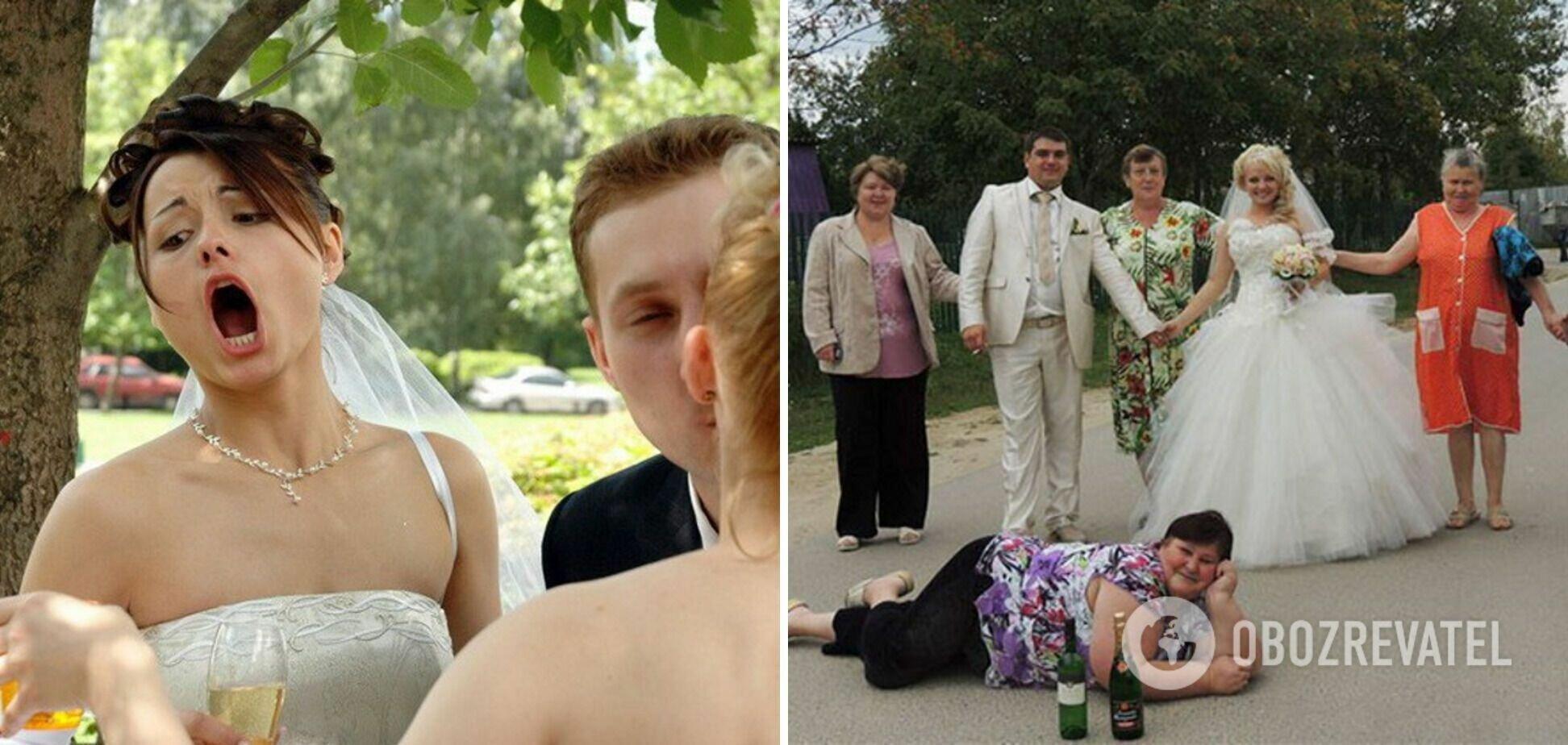 Свадебная фотосессия в деревне