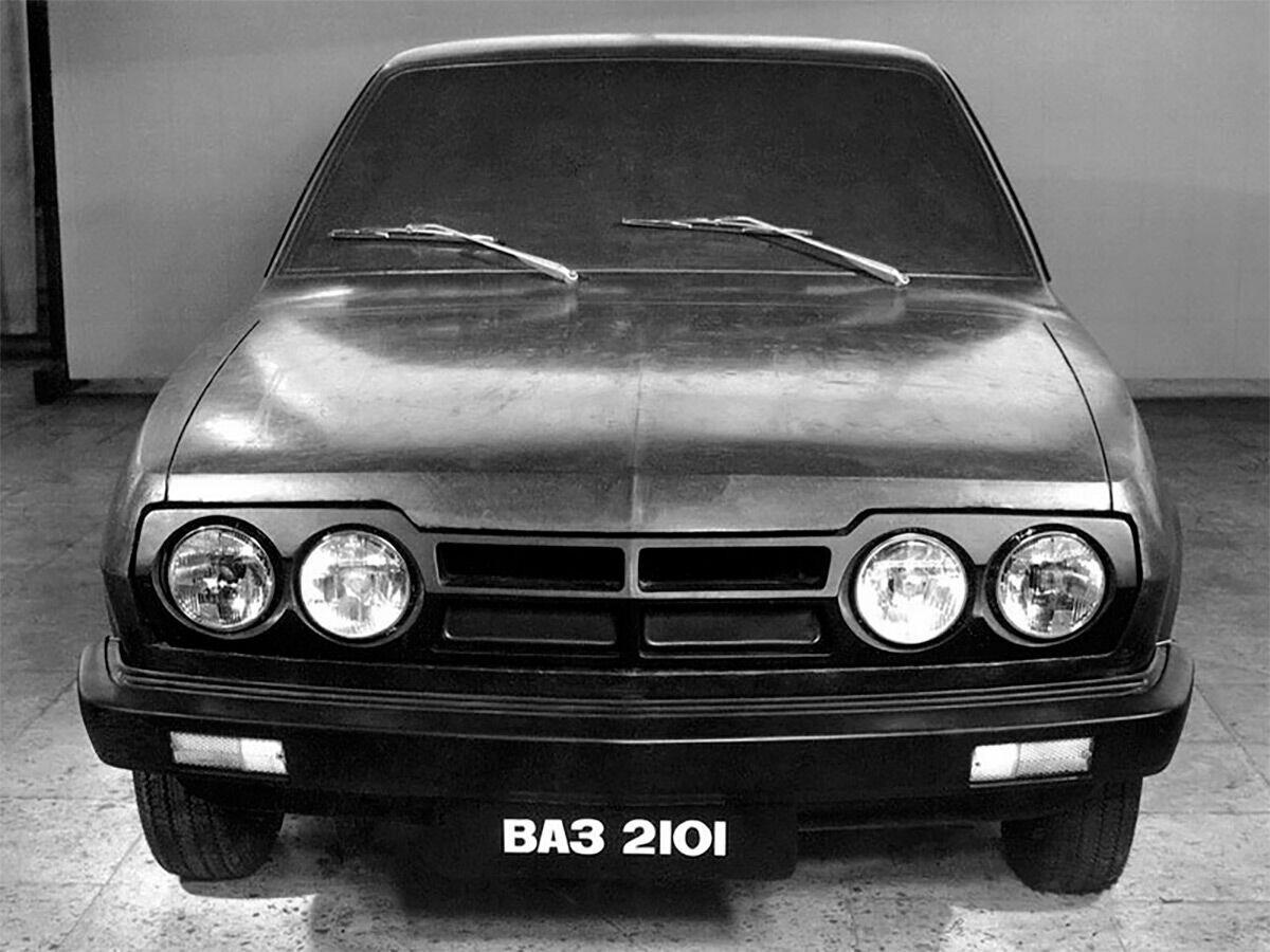 ВАЗ 2101-80, который напоминал Ford Escort