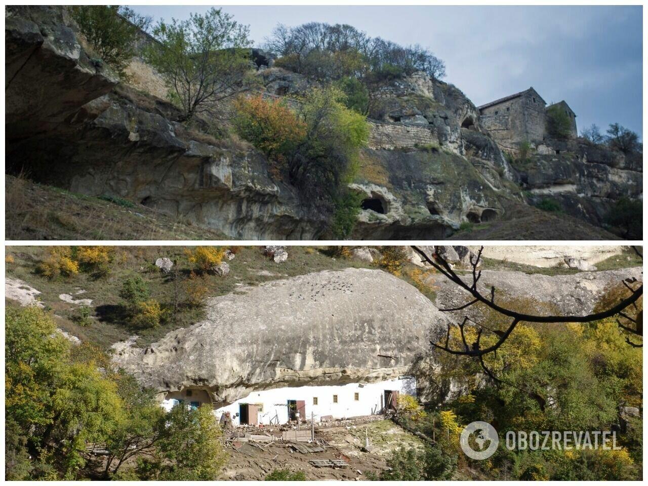 Дом под скалой является выдающимся памятником истории