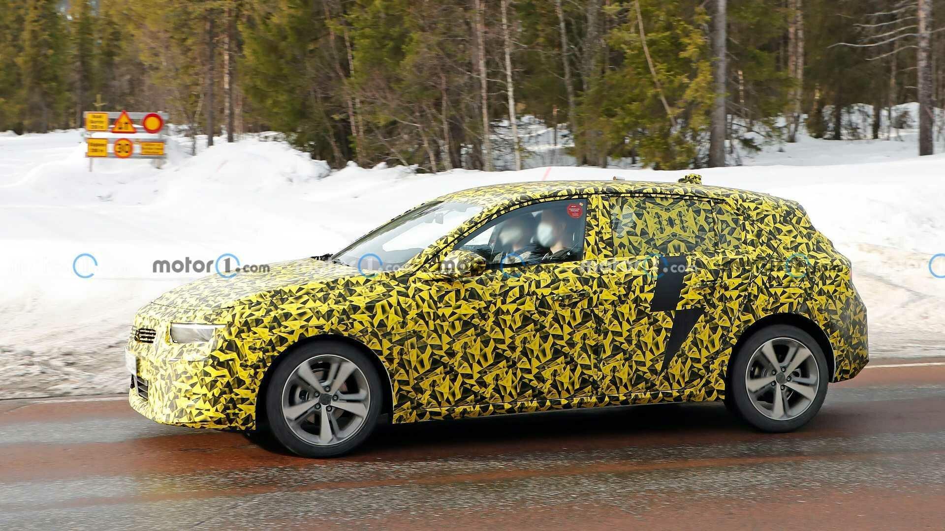 Opel Astra построят на платформе EMP2