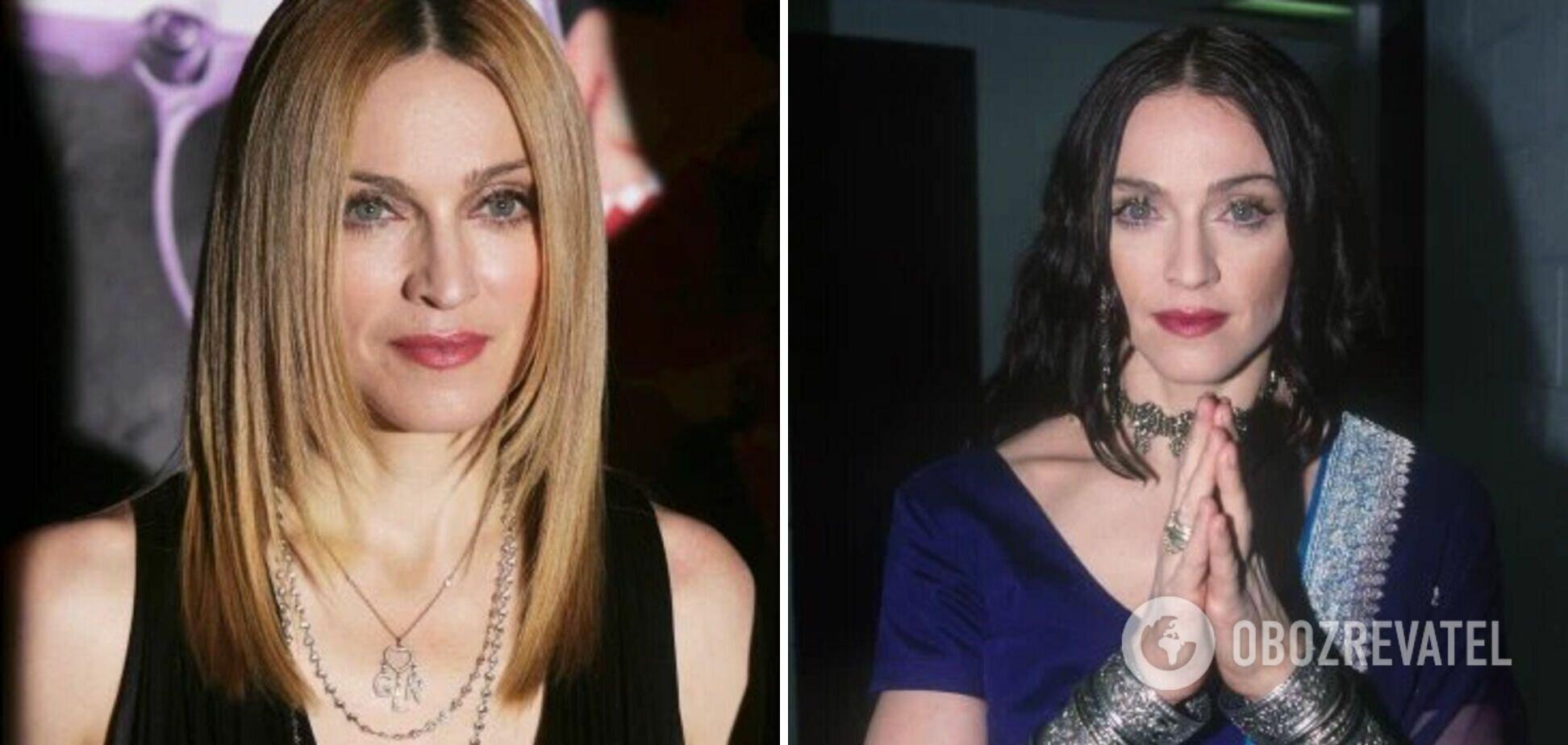 На концертах Мадонна переодевается десятки раз