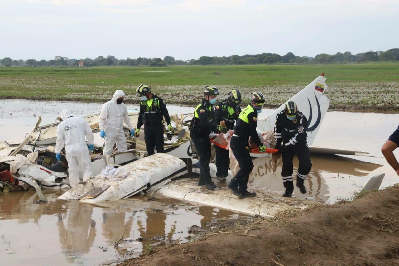 В Еквадоре разбился самолет.