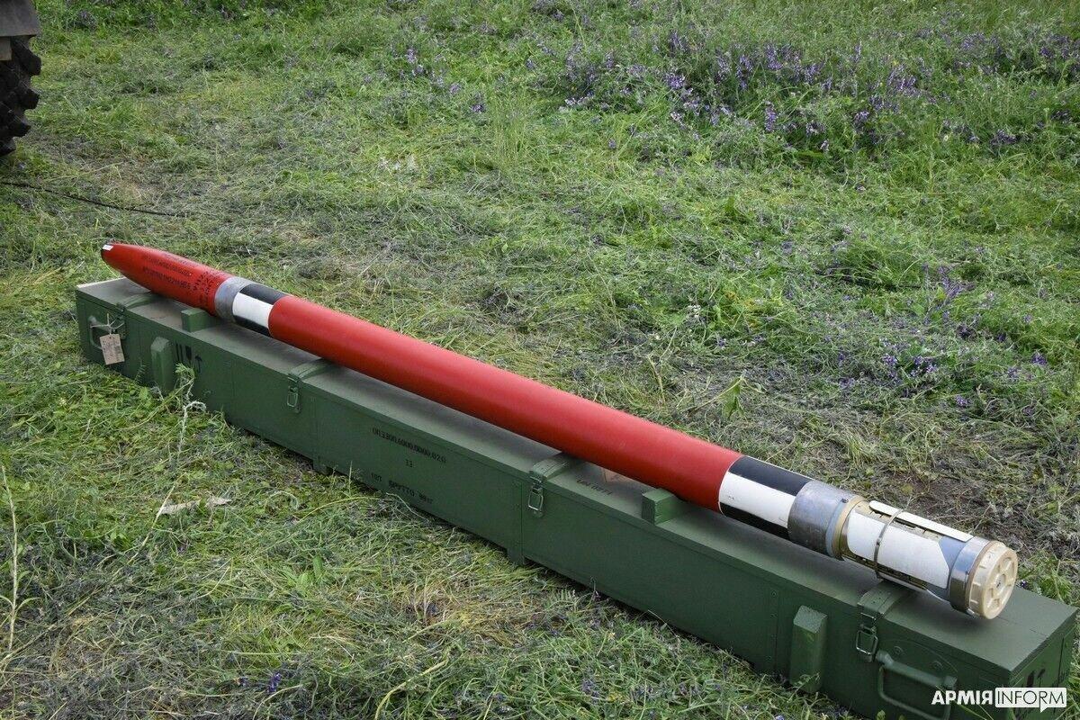 "Украинский реактивный снаряд калибра 122 мм ""Тайфун-1"""