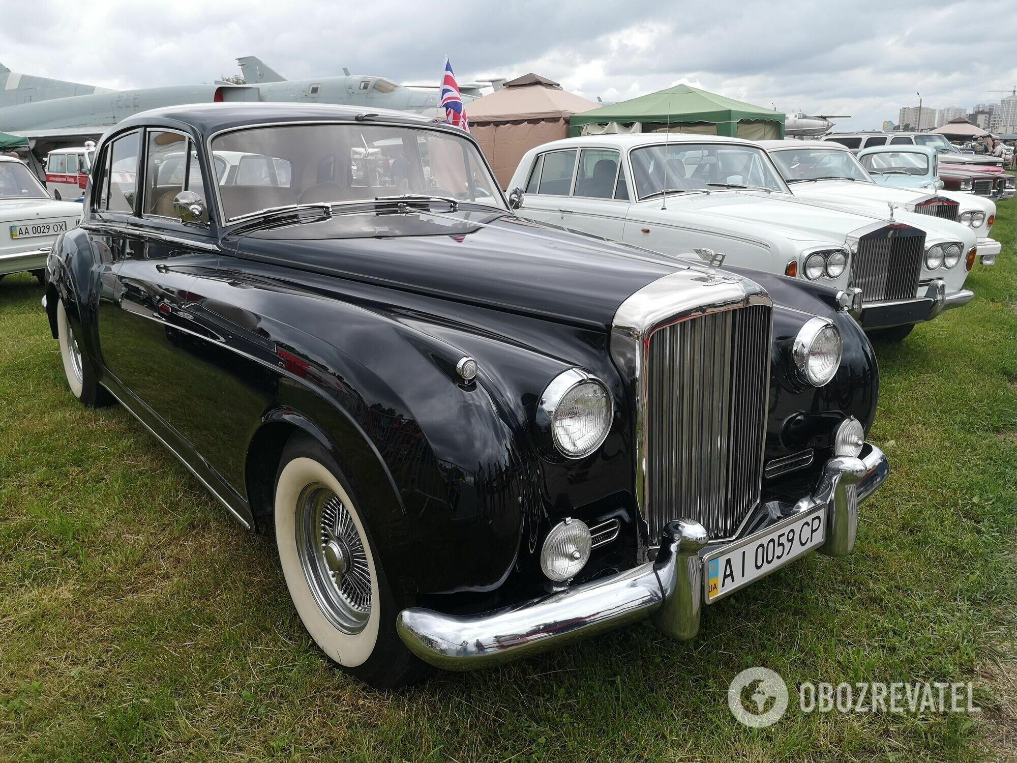 Bentley 1959 выпуска, принадлежавший семье из окружения американского президента Джона Кеннеди