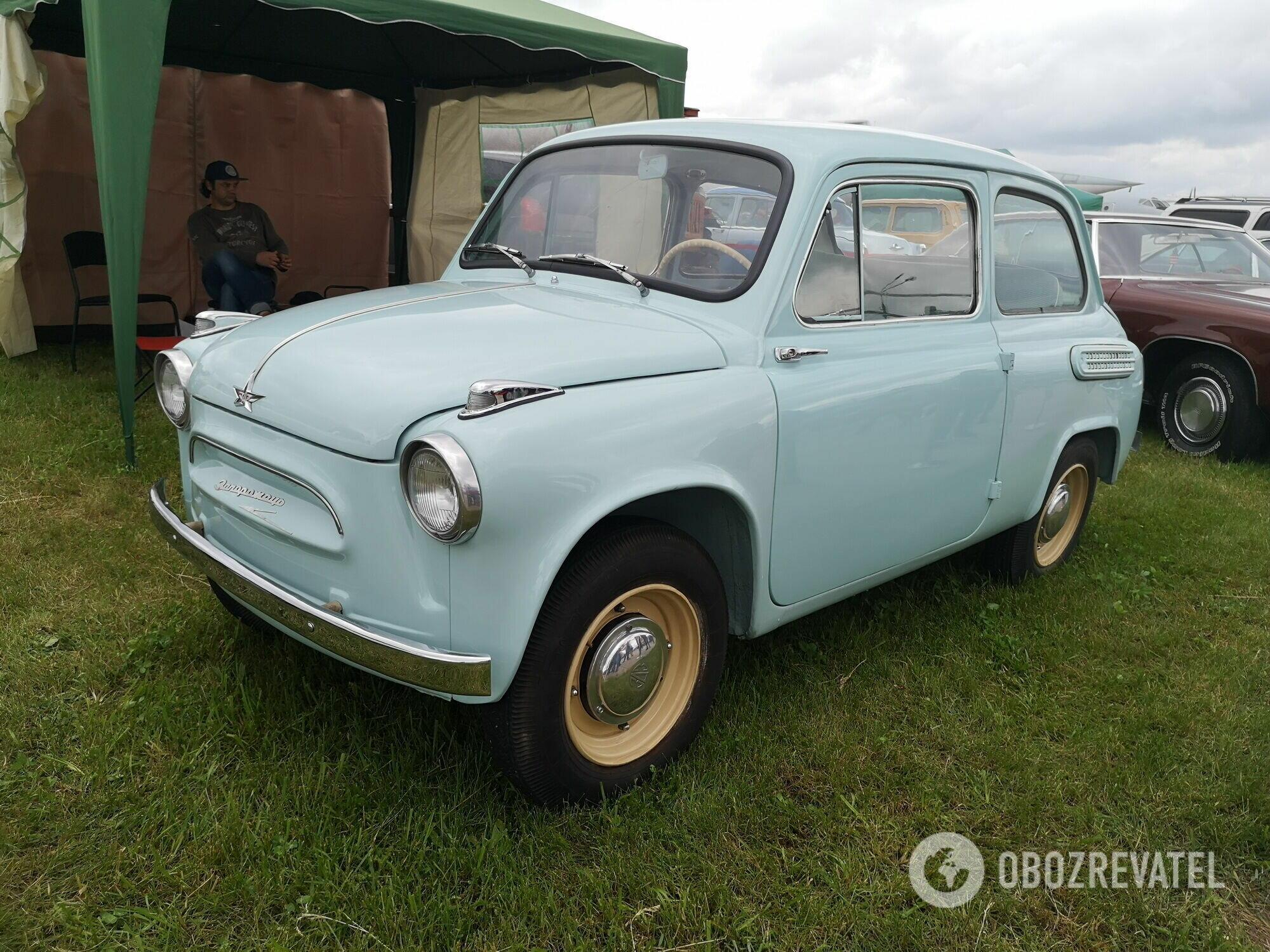 """На фестивале впервые дебютировал самый старый в мире """"Запорожец"""" – ЗАЗ-965 1960 года"""