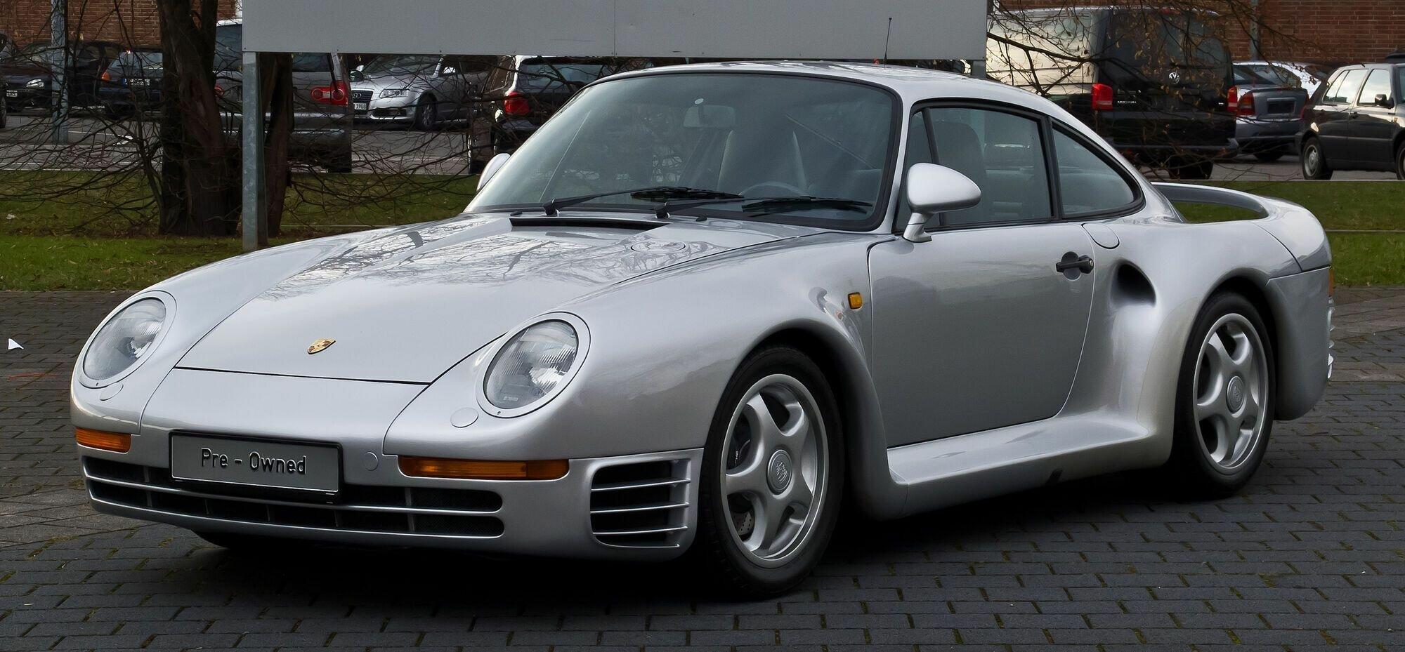Билл Гейтс 10 лет не мог ездить на своем Porsche 959