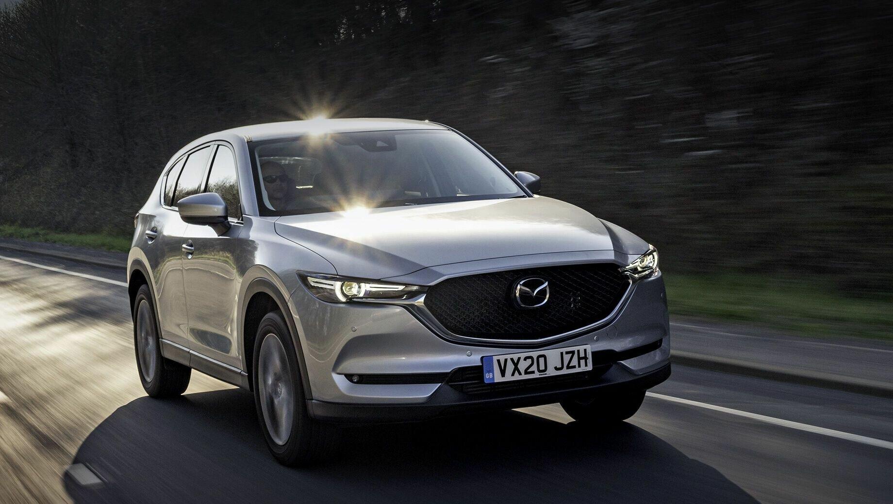Mazda CX-5 нравится украинским покупателям