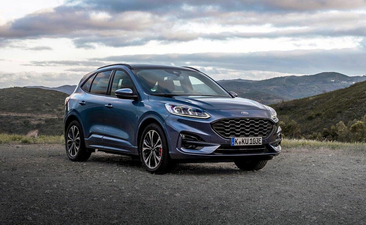 Ford Kuga совсем недавно сменил поколение