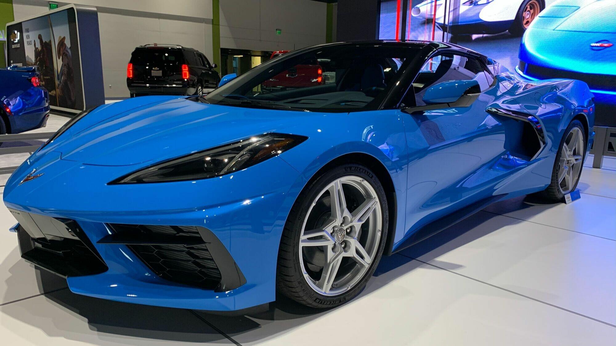 Chevy Corvette C8 разгоняется до 97 км/ч за 2,9 секунды