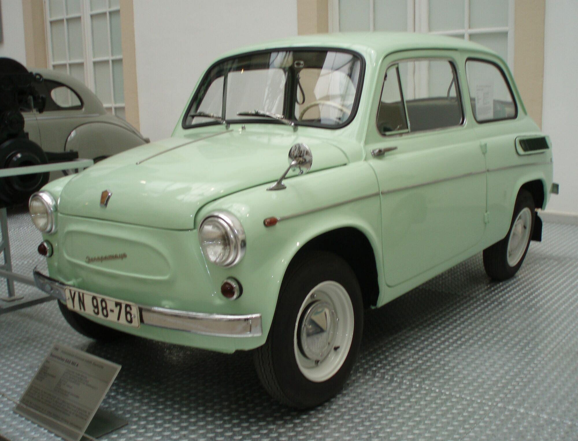 ЗАЗ-965, как и другие советские авто, ценят эмигранты
