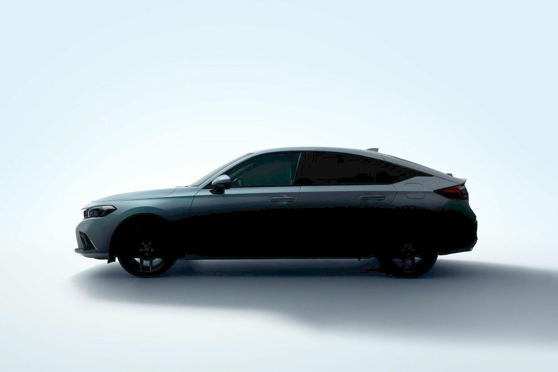 Тизер Honda Civic Hatchback нового поколения