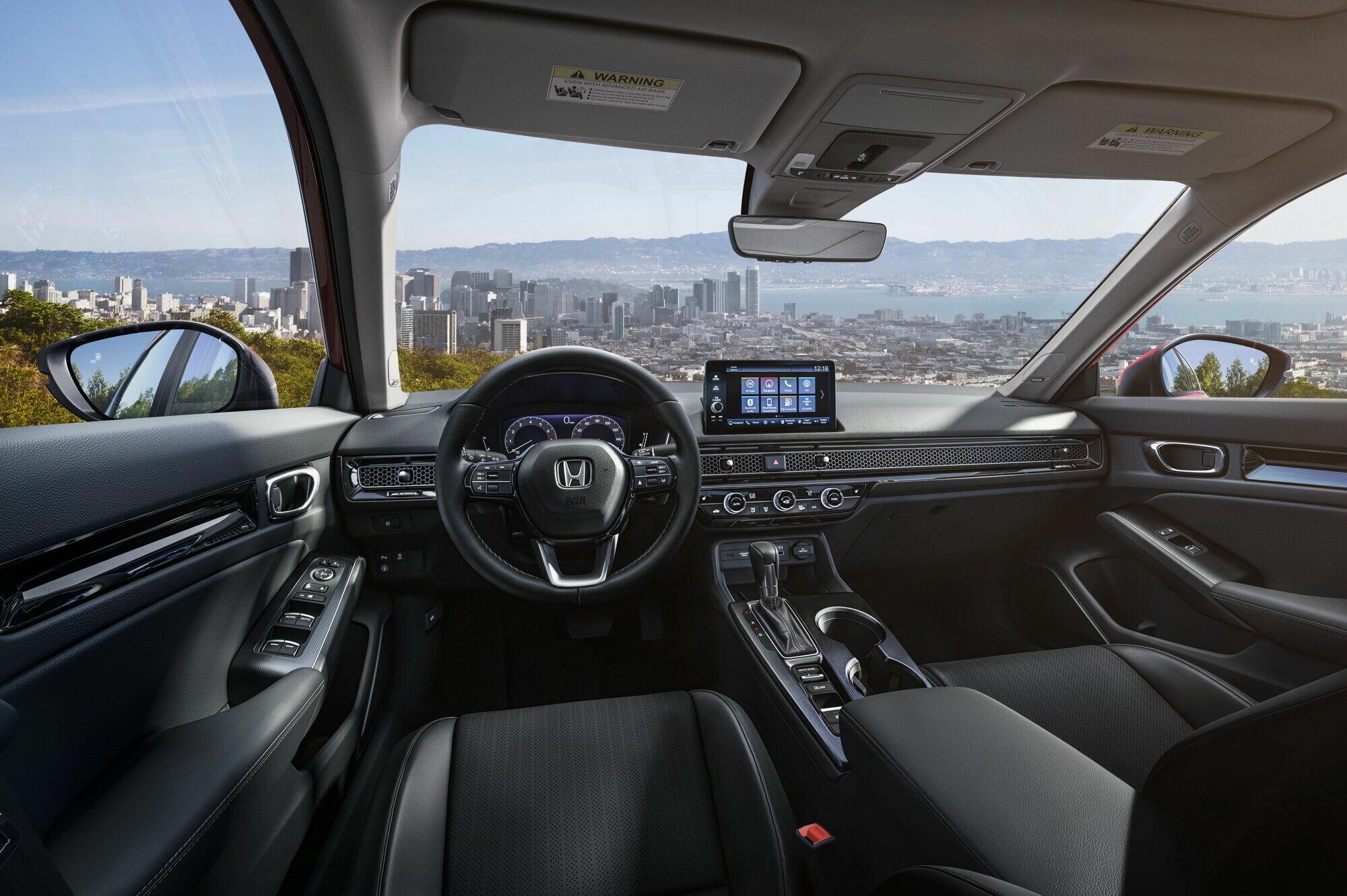 Интерьер нового Honda Civic