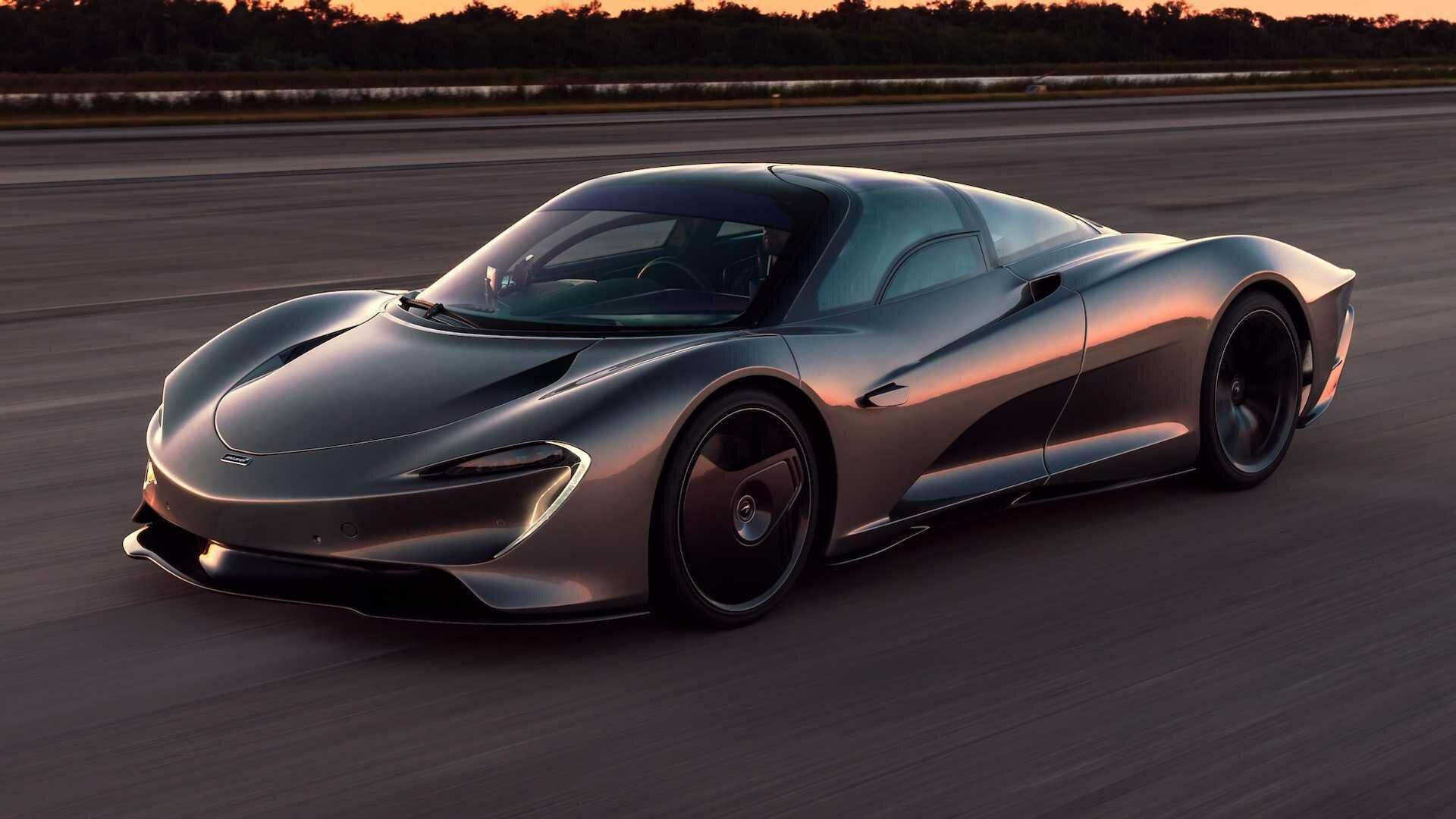 Двигатель V8 в McLaren Speedtail выдает 1035 лошадиных сил