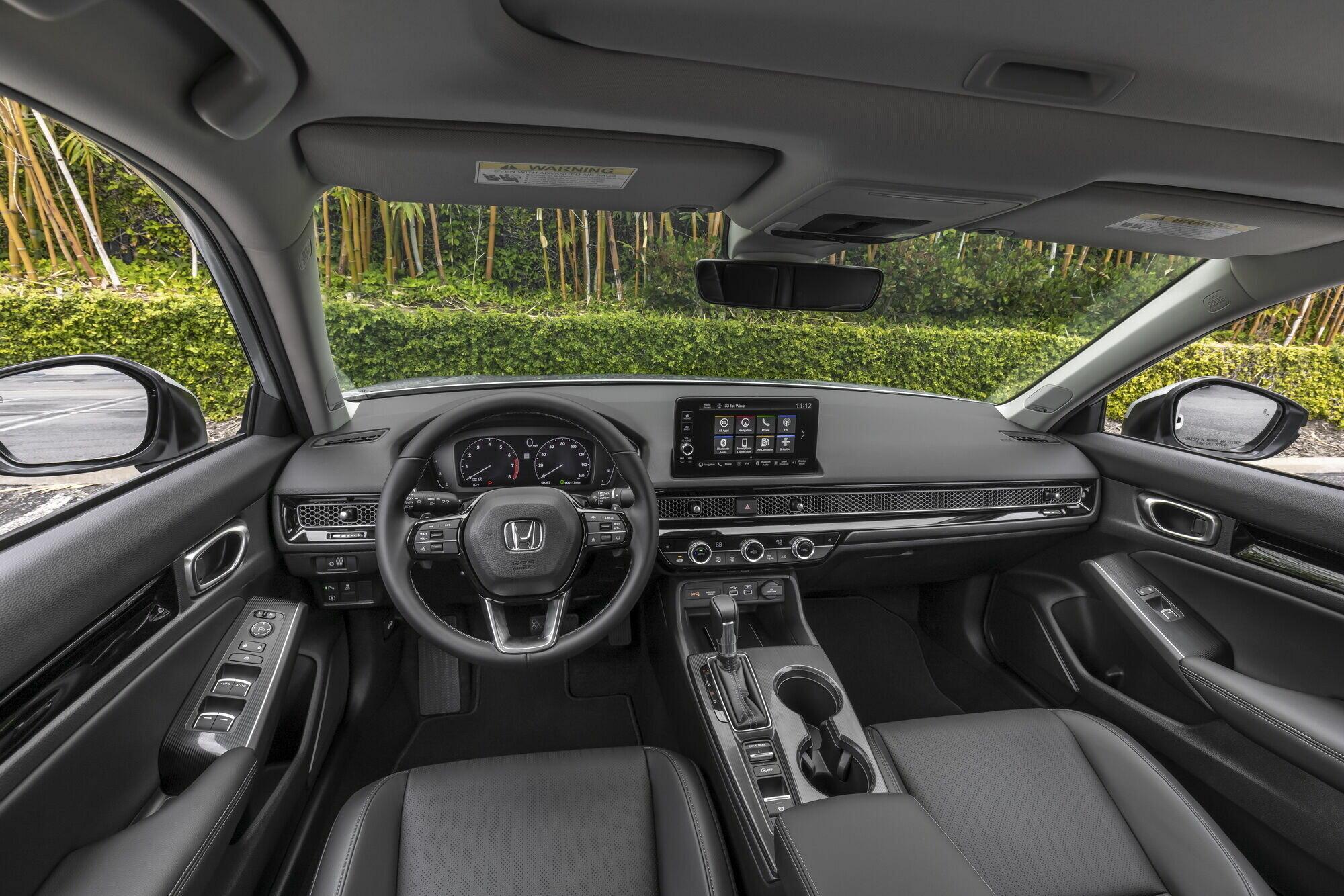 Салон Honda Civic Sedan