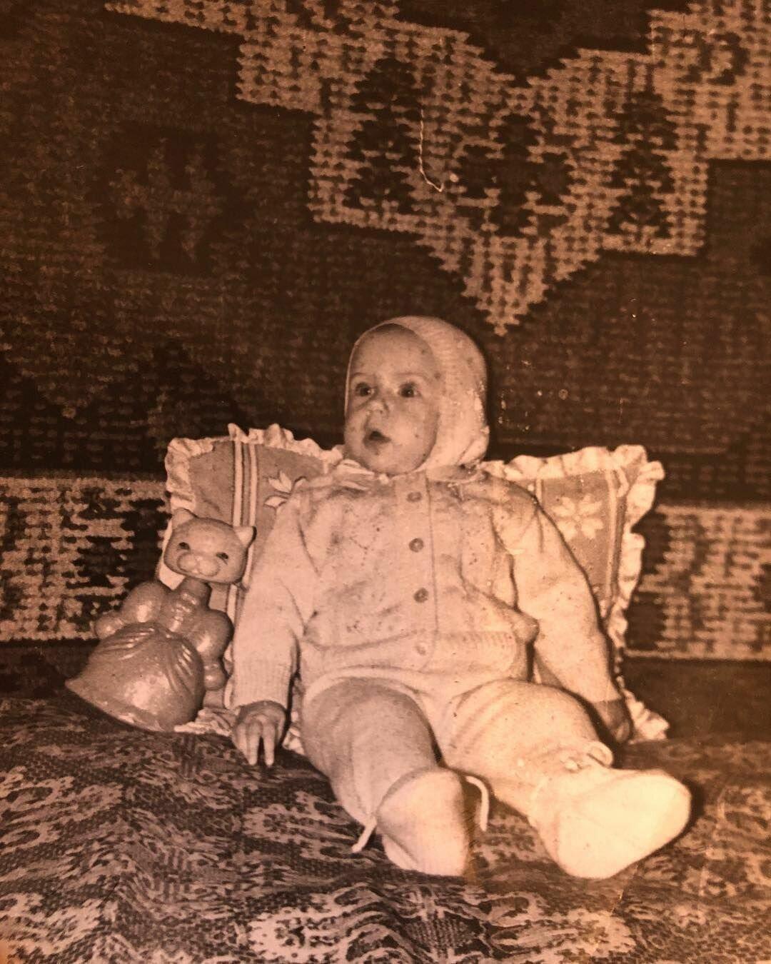Никитюк в детстве