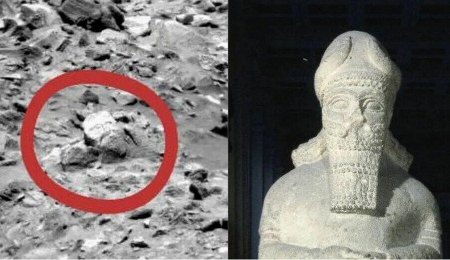 Топ-10 таинственных фото с Марса, которые взбудоражили умы землян