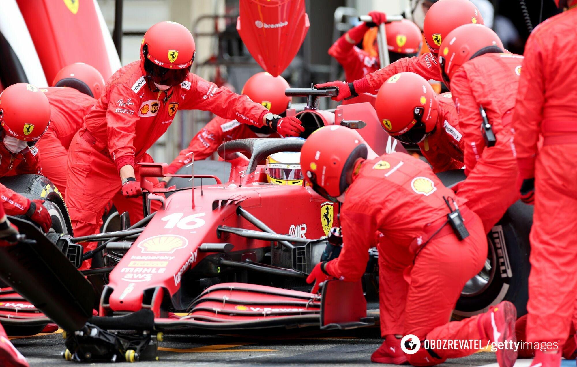 Ferrari провалились