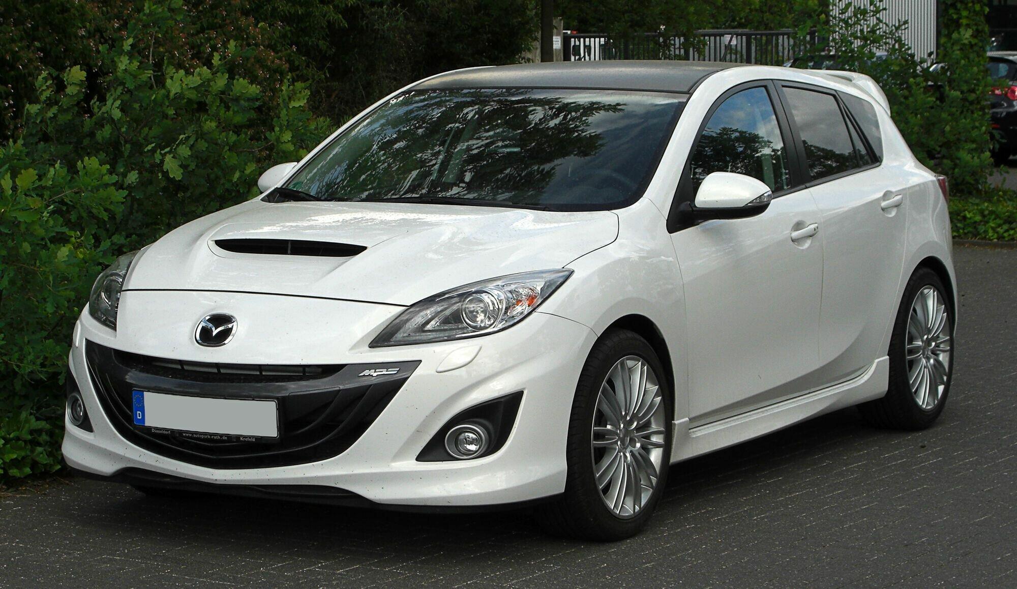 Mazda 3 MPS стоит от 7000 долларов