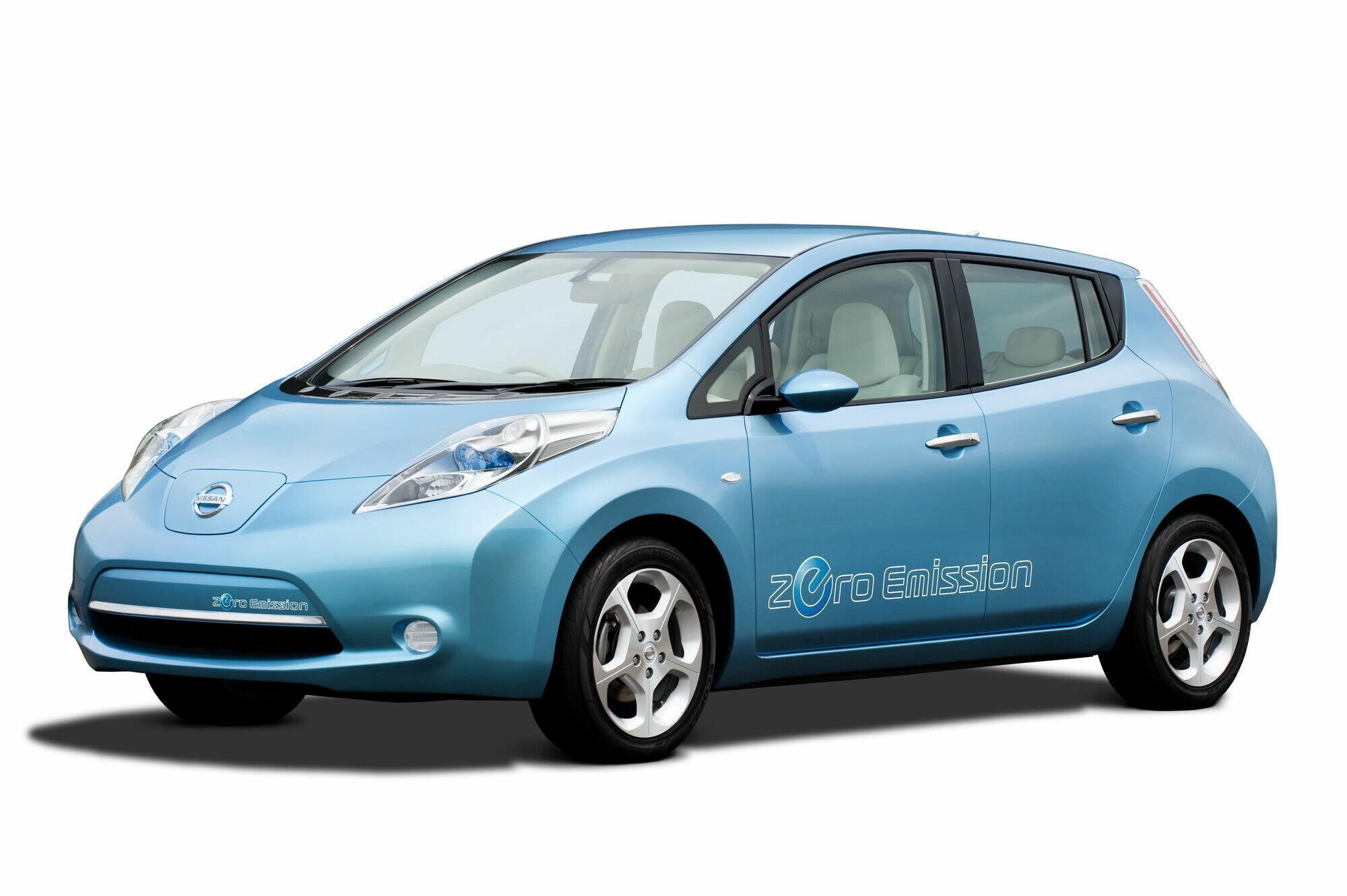 Nissan Leaf первого поколения дебютировал в конце 2010 года