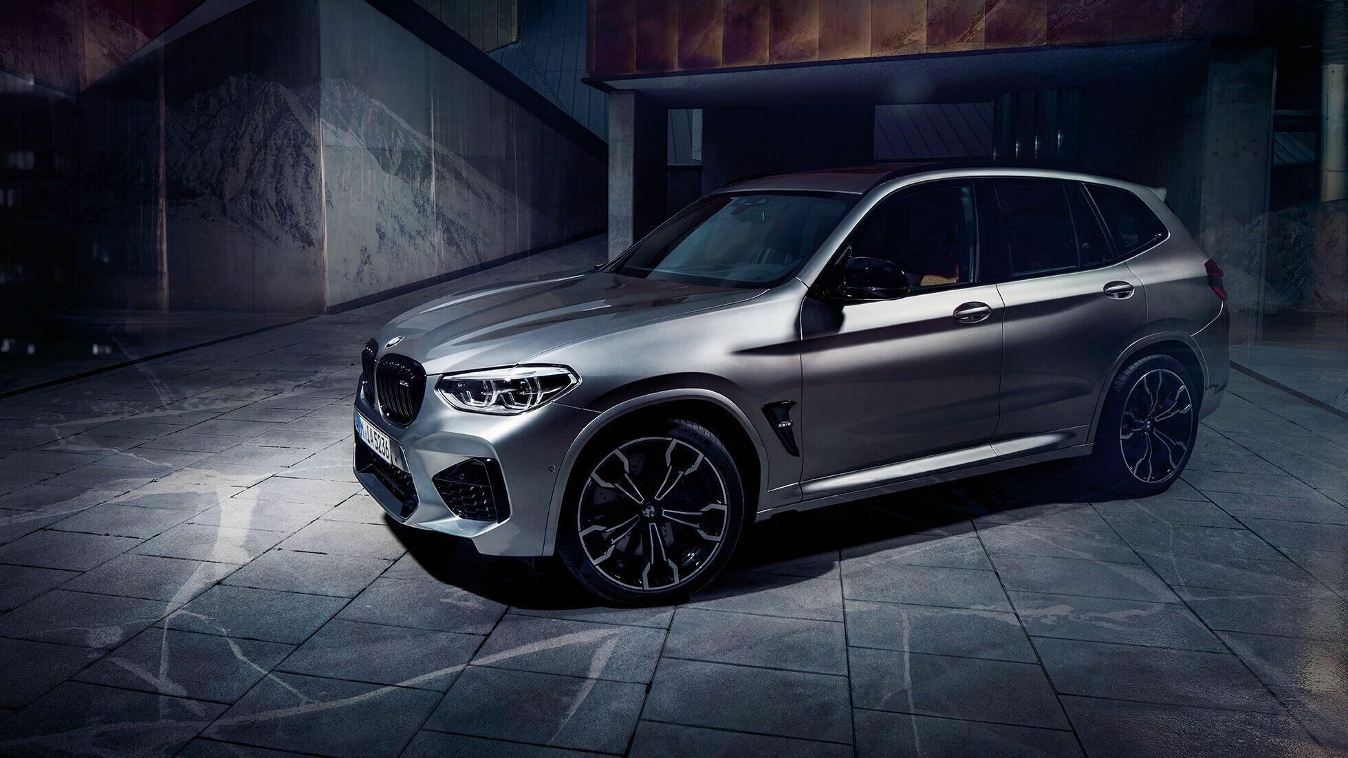 BMW X3 M Competition разгоняется до 96 км/ч за 3,3 секунды