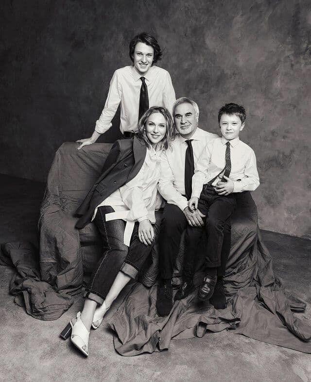Джанабаєва і Меладзе на фотосесії зі своїми синами