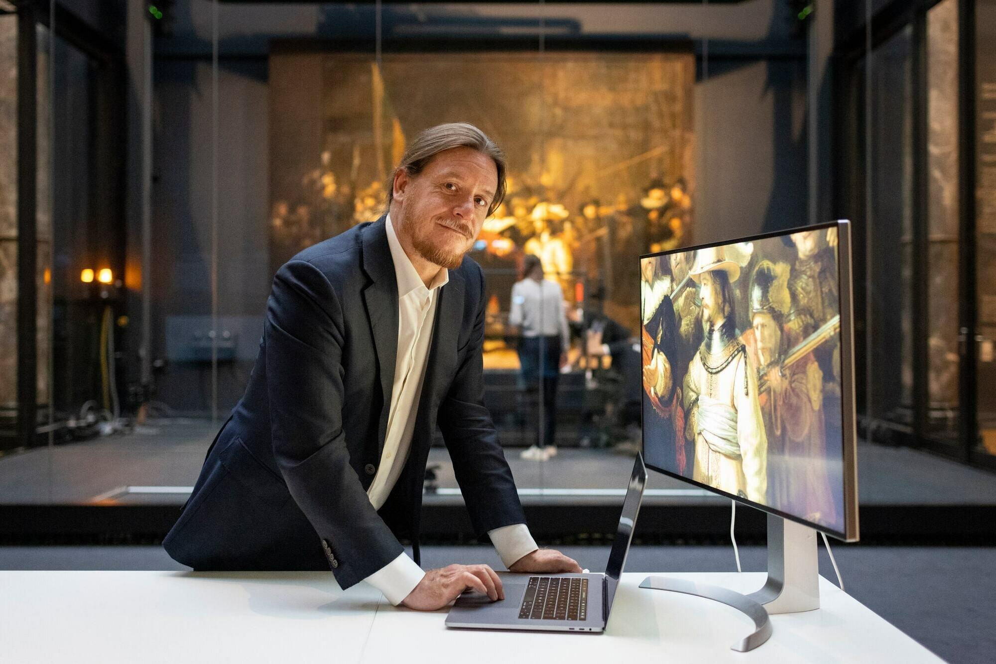 Роберт Эрдманн восстановил утраченные фрагменты картины