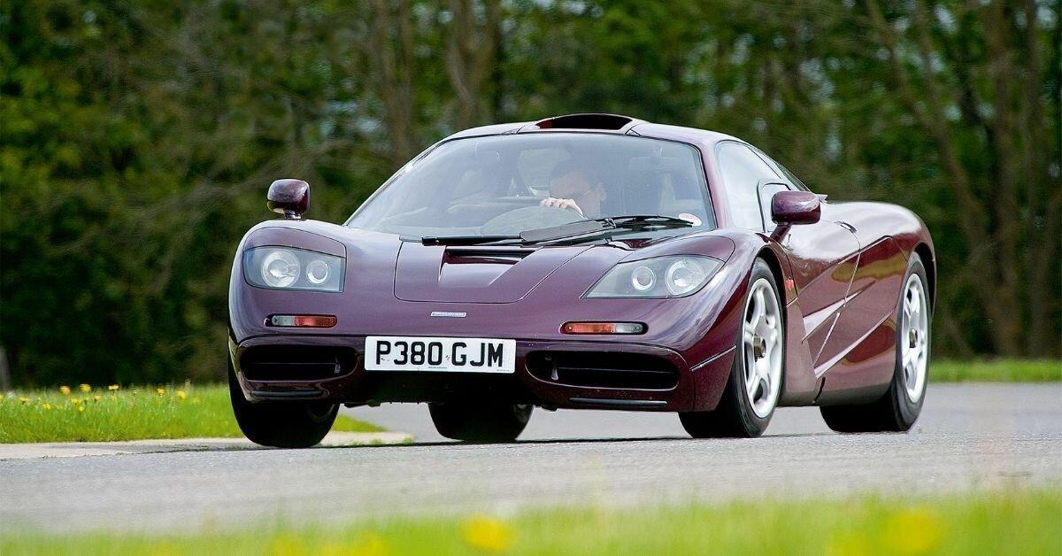 McLaren F1 является одним из самых редких и самых быстрых авто в истории