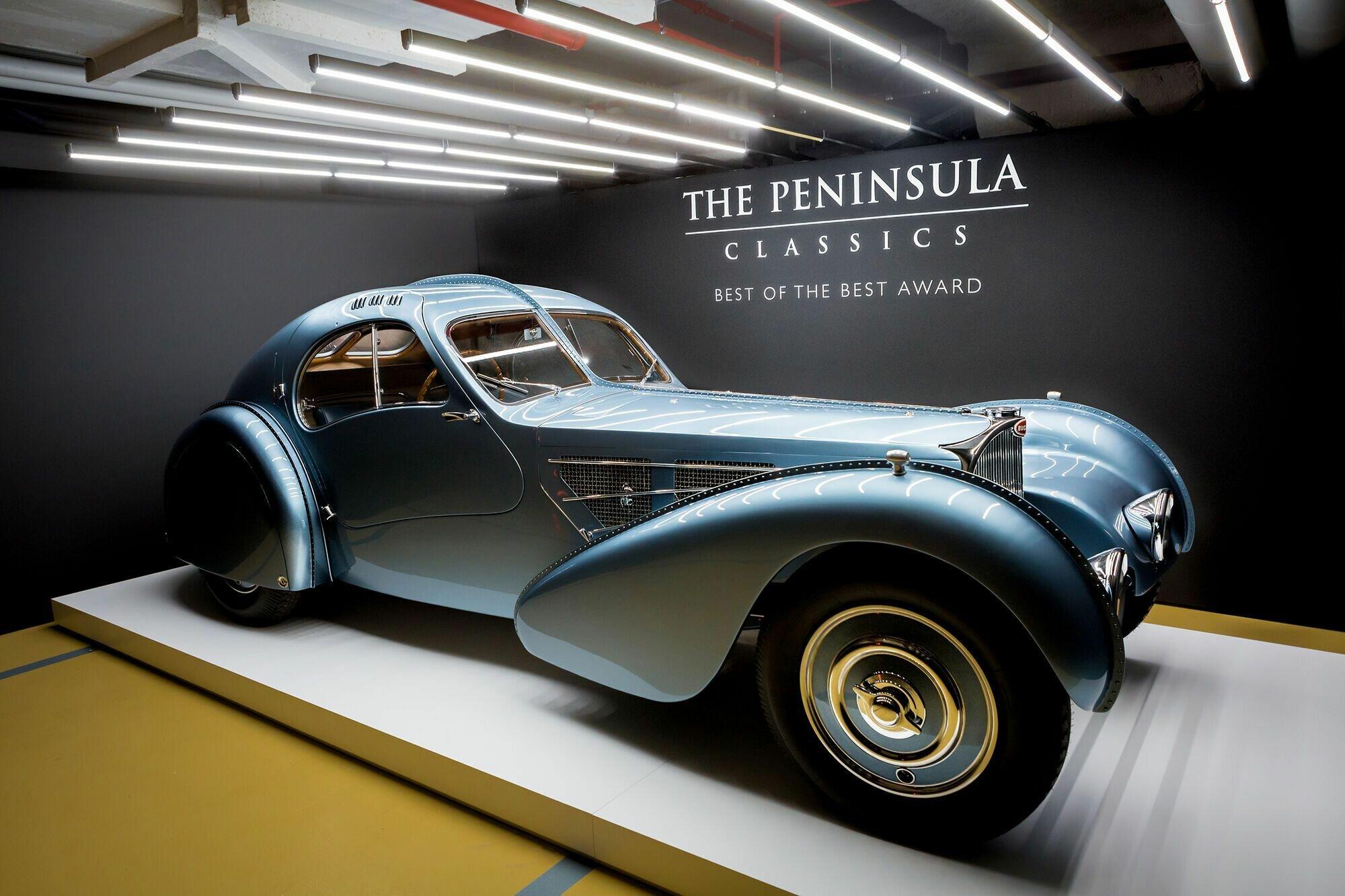 Bugatti Type 57 Atlantic прекрасно выглядел, но не пошел в производство