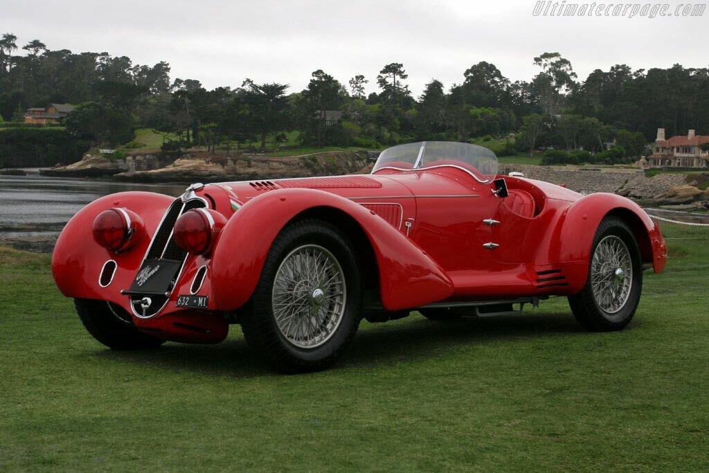 Alfa 8C 2900 Mille Miglia создали для гонки выносливость