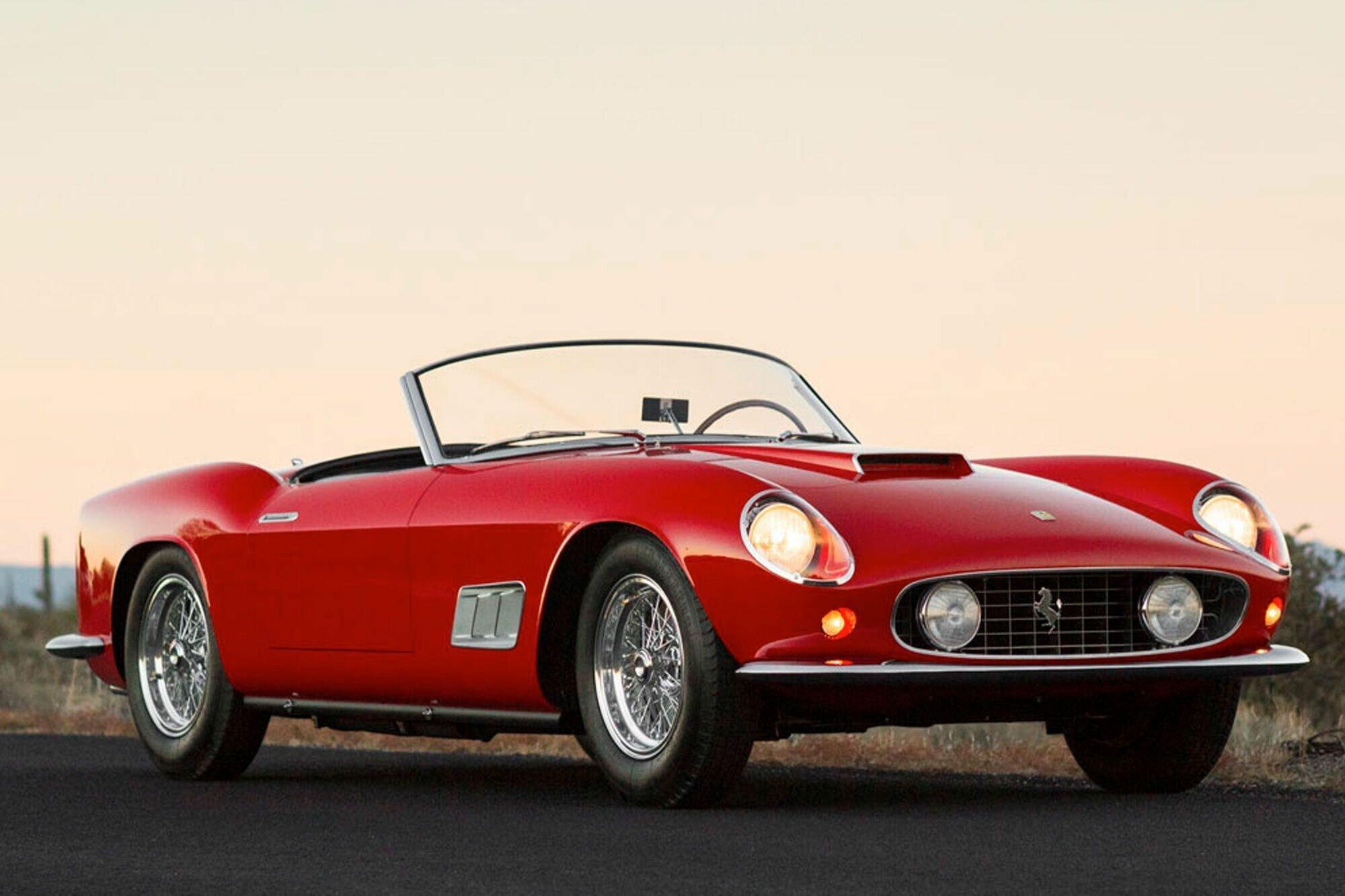 Ferrari 250 GT California Spyder SWB для рынка США