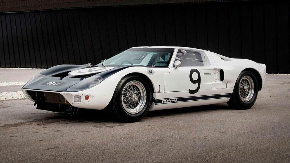 """Ford GT40 четыре раза подряд побеждал в """"Ле-Мане"""""""
