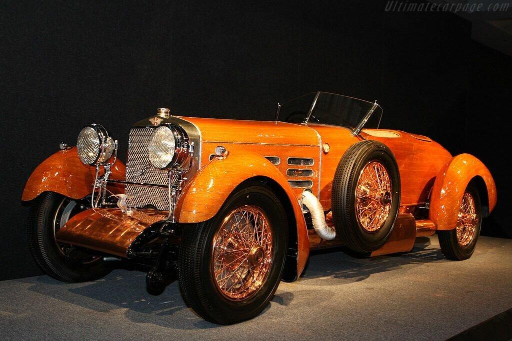 "Hispano H6B ""Tulipwood"" создали для гонки Targa Florio"