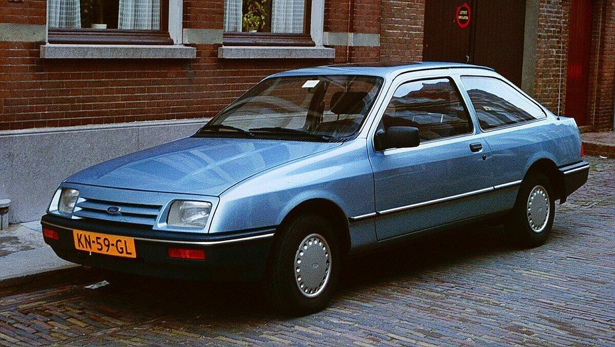 Ford Sierra был обычным семейным авто