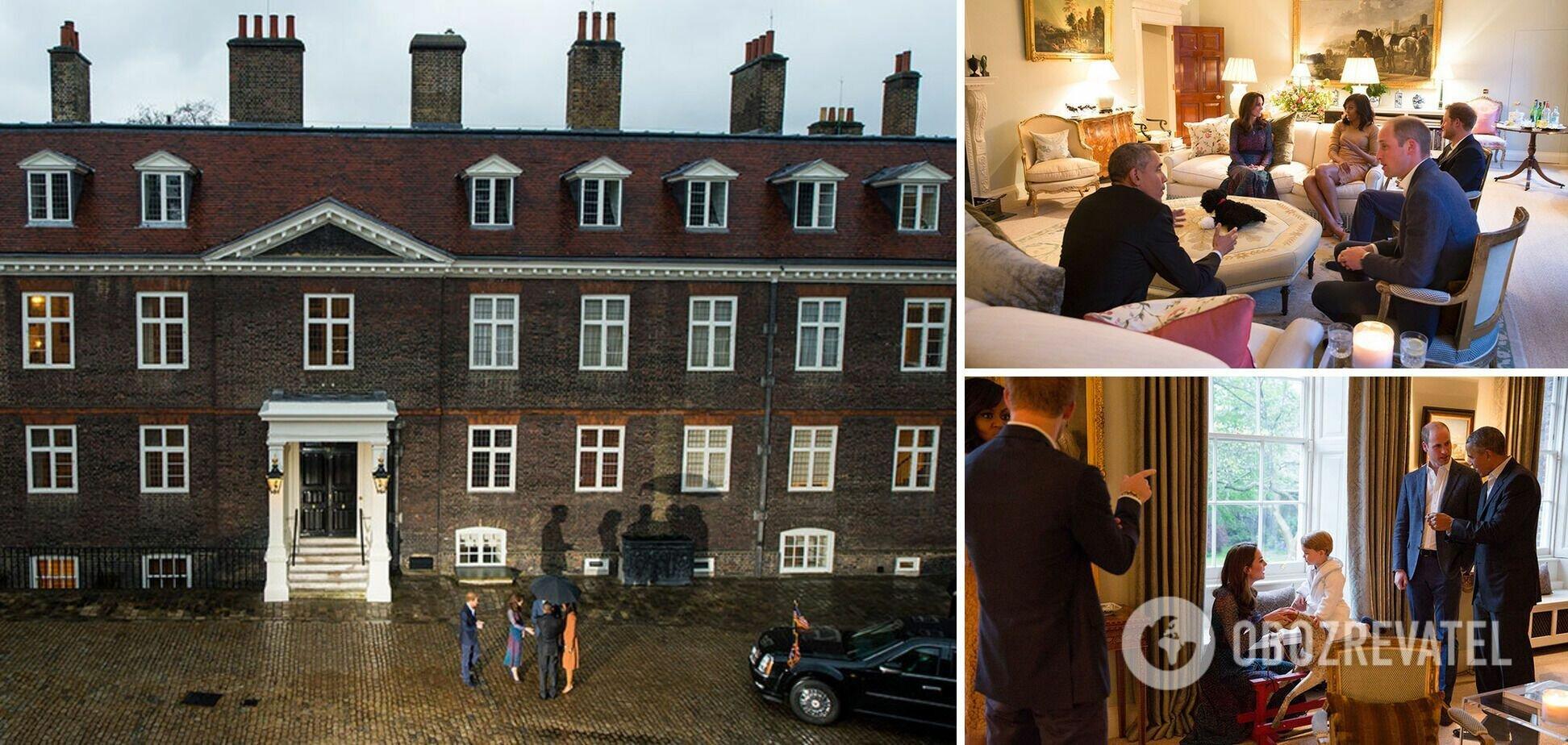 Принц Уильям и его жена Кейт Миддлтон проживают в апартаментах 1А Кенсингтонского дворца