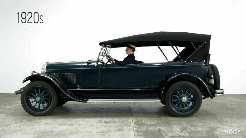 Model L была первой моделью Lincoln