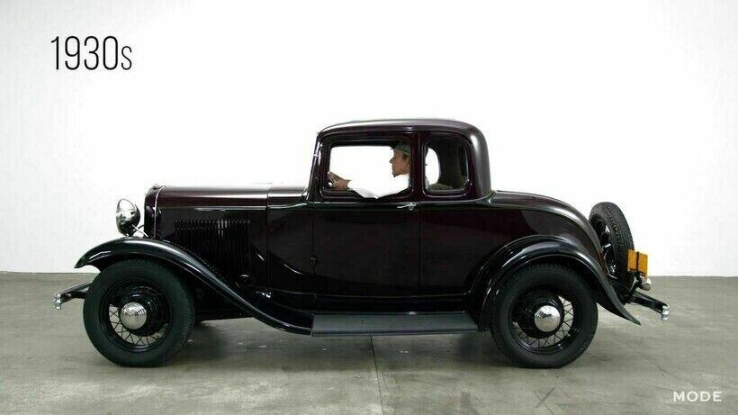 Ford Model B производилась в 1932-1934 годах
