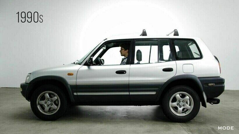 Toyota RAV4 создали на базе суперкара