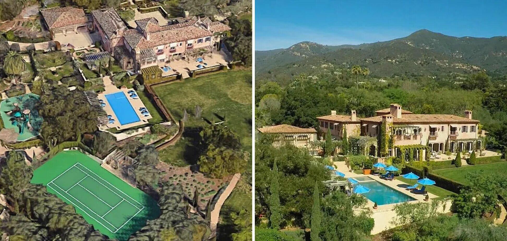 Принц Гарри и его супруга Меган Маркл имеют большой особняк в Калифорнии