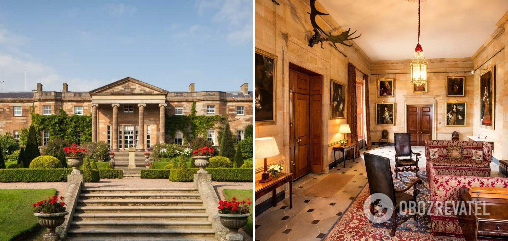 Замок Хиллсборо служит официальной резиденцией королевы во время ее визитов в Северную Ирландию