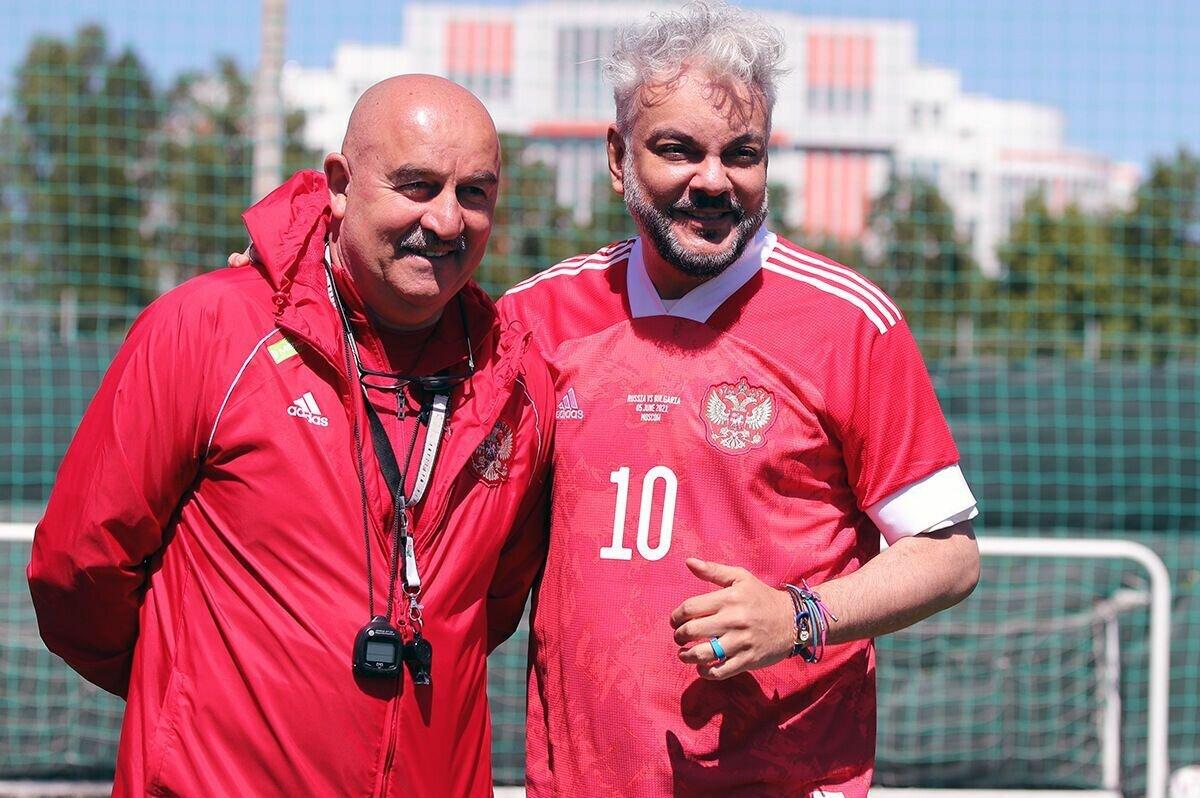 Филипп Киркоров и Станислав Черчесов.