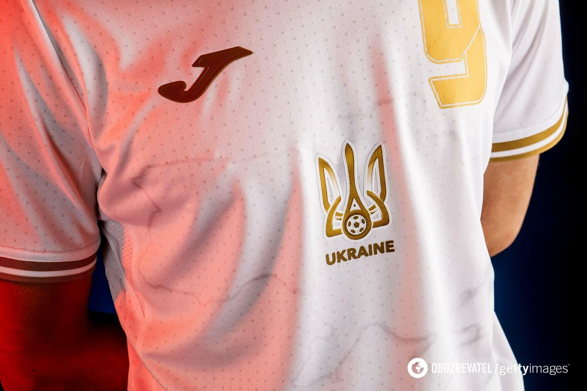 У сборной Украины вновь будут три комплекта формы.